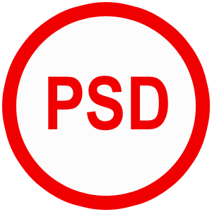 فیلم آموزشی طراحی Psd به صورت پروژه محور